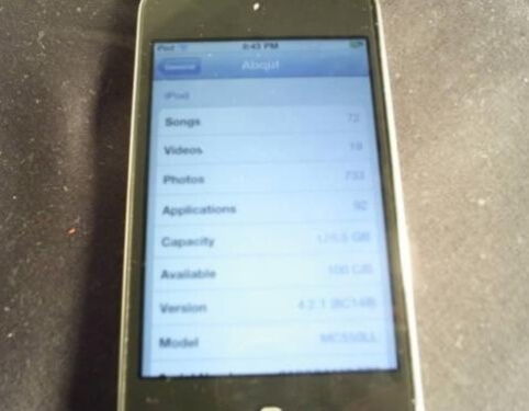 Прототип iPod touch Фото 2
