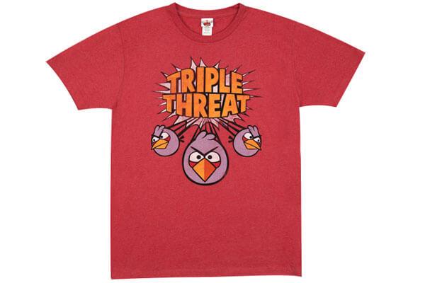 Футболка мужская Angry Birds.