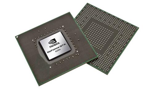 Видеокарты NVIDIA GeForce 600M