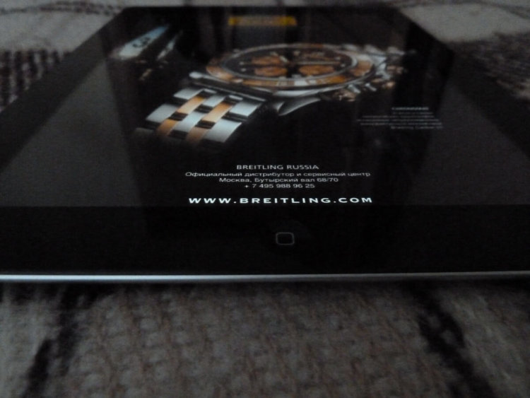 Разные углы обзора The new iPad