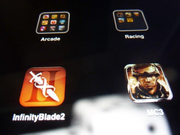 Несколько иконок iPad 2