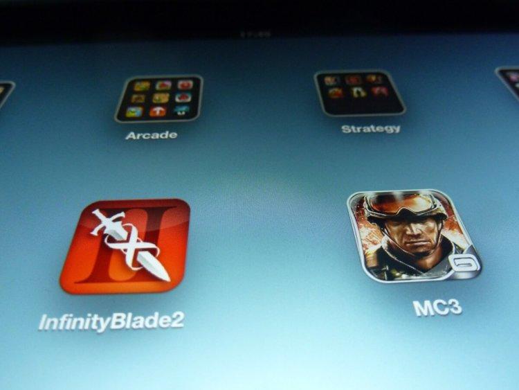 Несколько иконок The new iPad