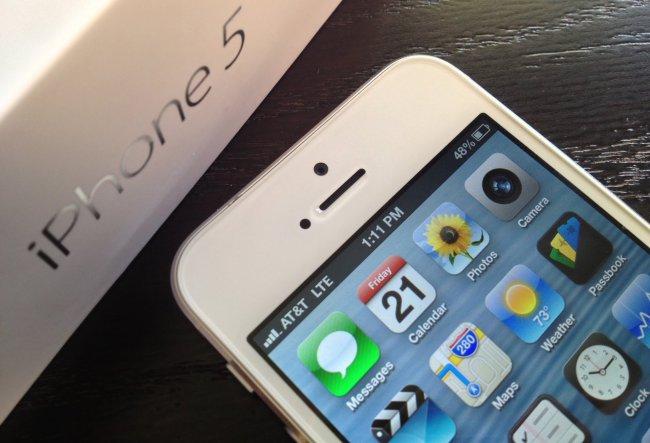 LTE на iPhone 5