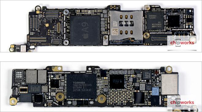 Внутри iPhone SE