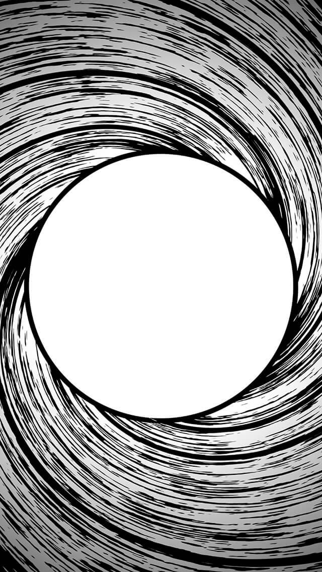 james-bond-circle-bw-pattern-iphone-5