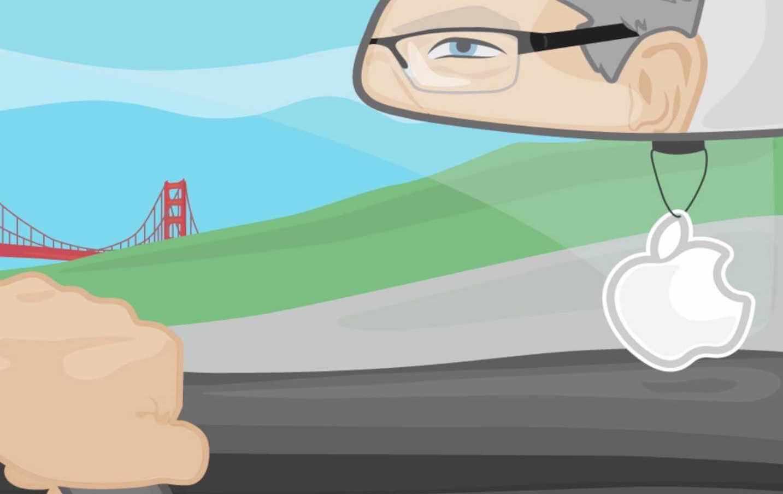 Изобретатель из Google разрабатывает автомобиль Apple
