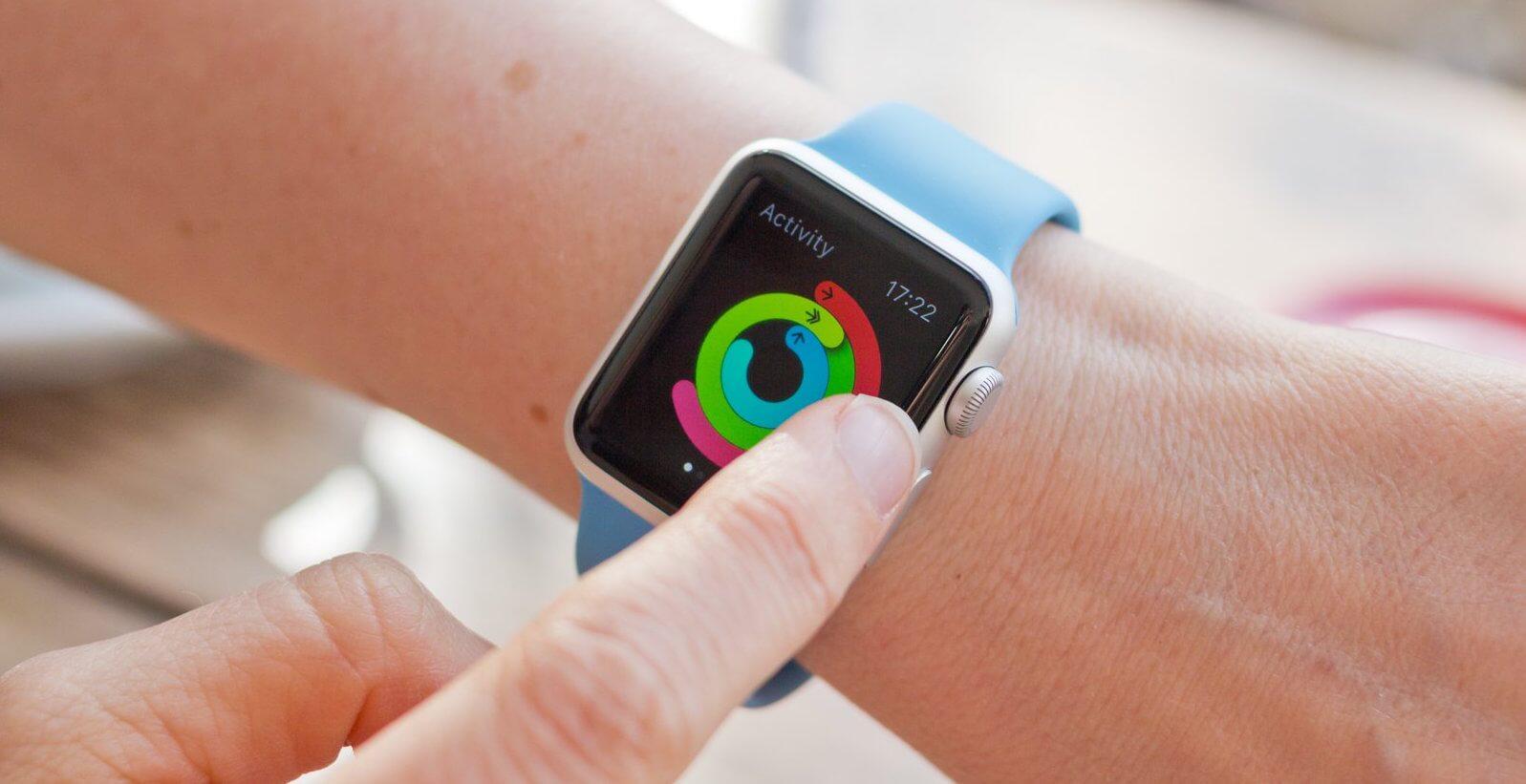 Apple Watch активность