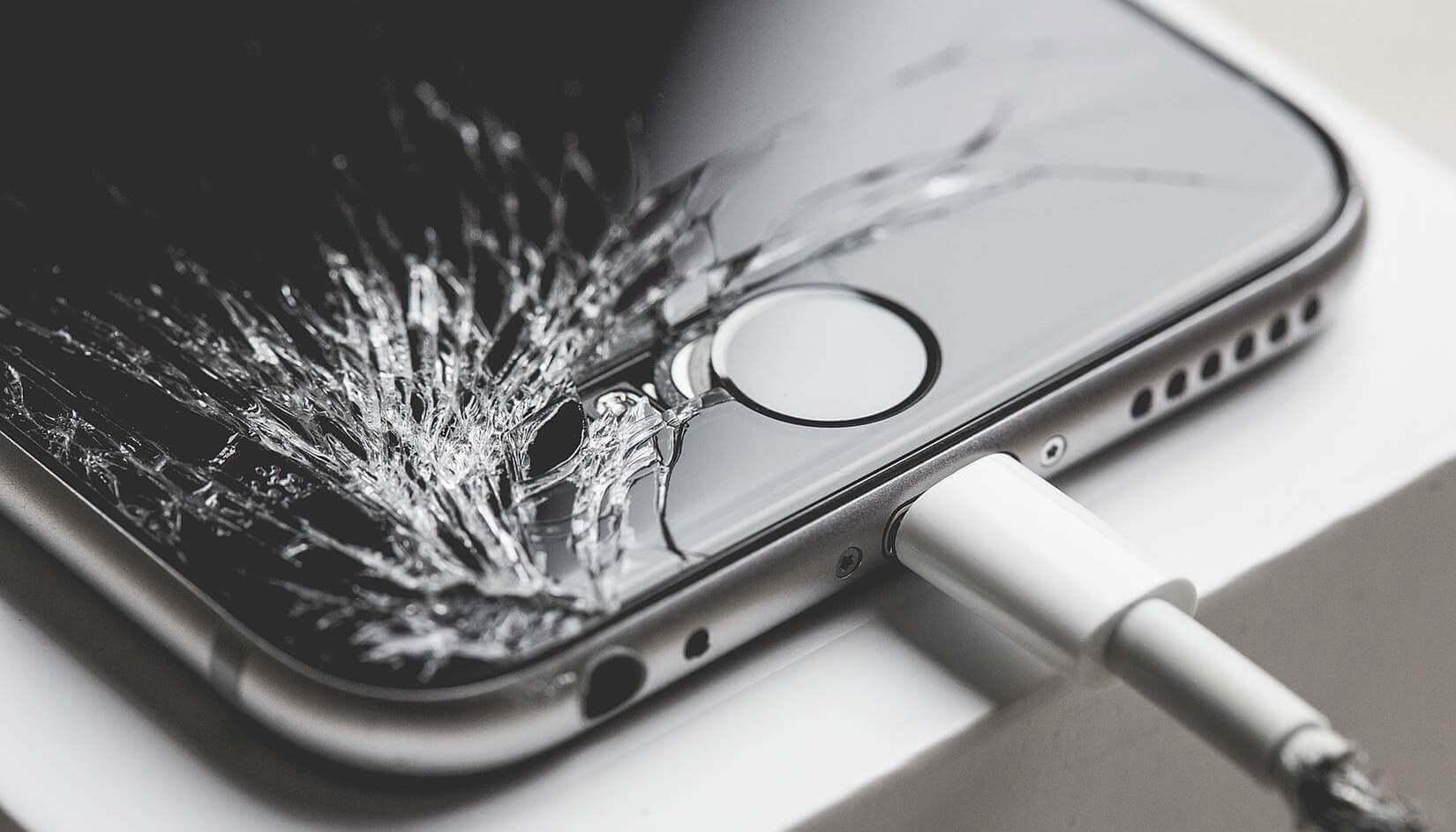 Разбил дисплей iPhone