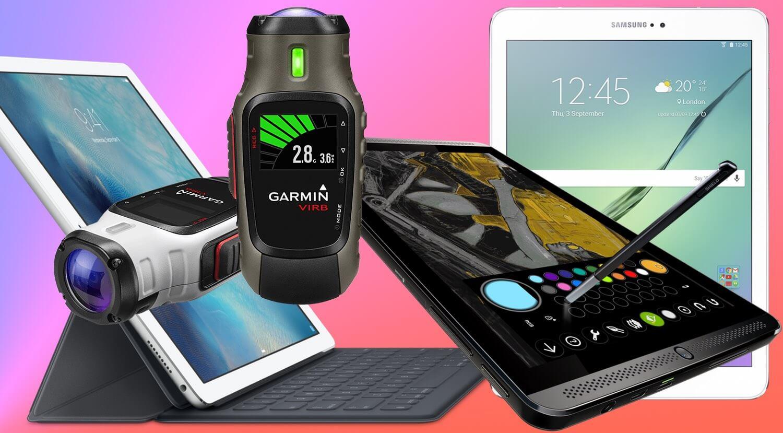 Бандеролька Гаджетов: лучшие планшеты и экшн-камеры