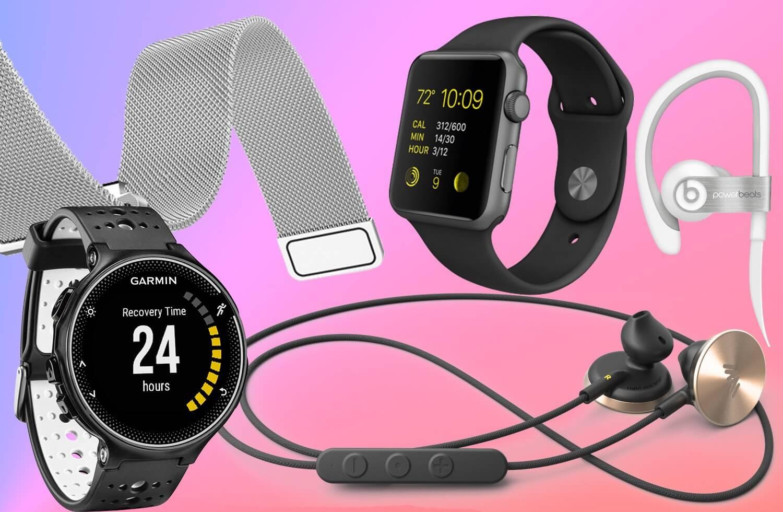Бандеролька гаджетов: умные часы, фитнес-браслеты и наушники