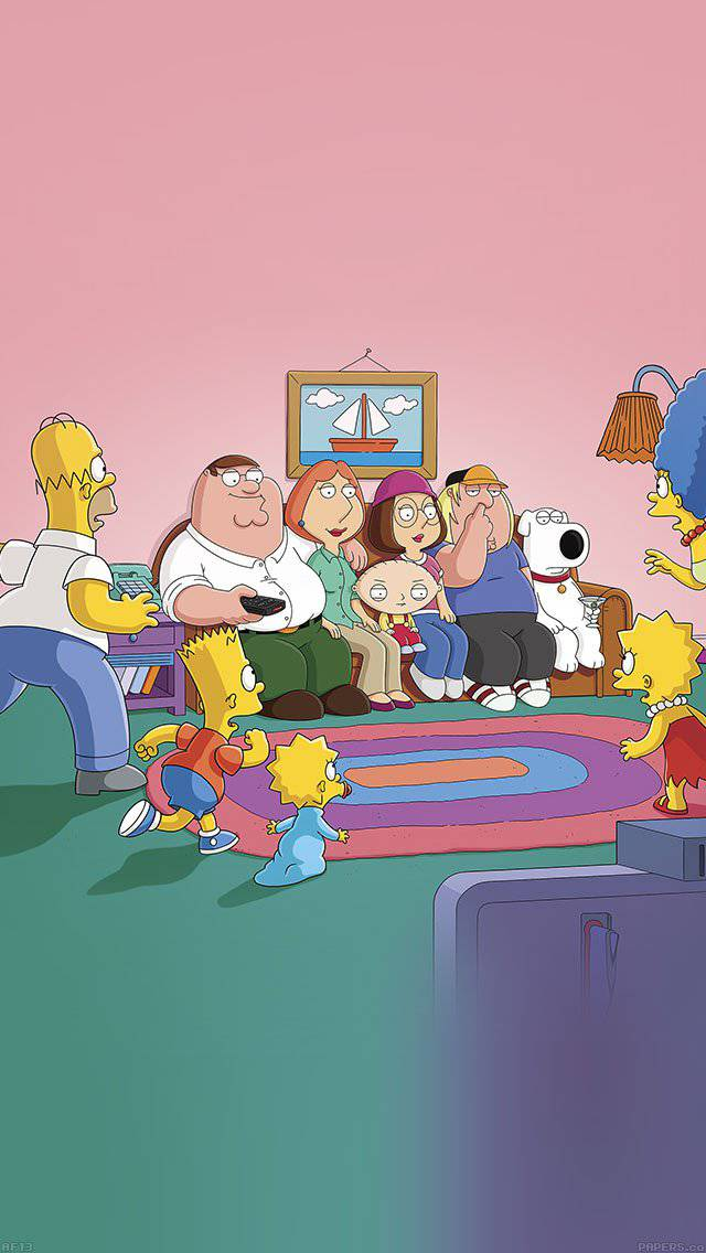 familyguy-simpsons-comics-illust-tv-art-iphone-5