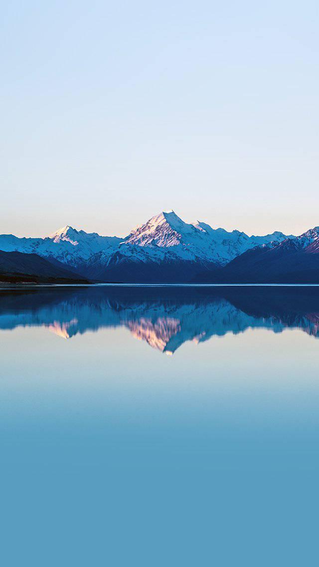 mountain-lake-beautiful-nature-blue-sky-iphone-5