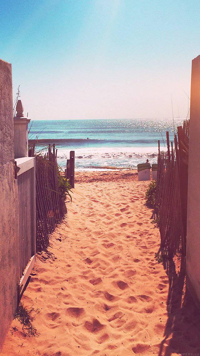 sea-sand-ocean-beach-nature-flare-iphone-5