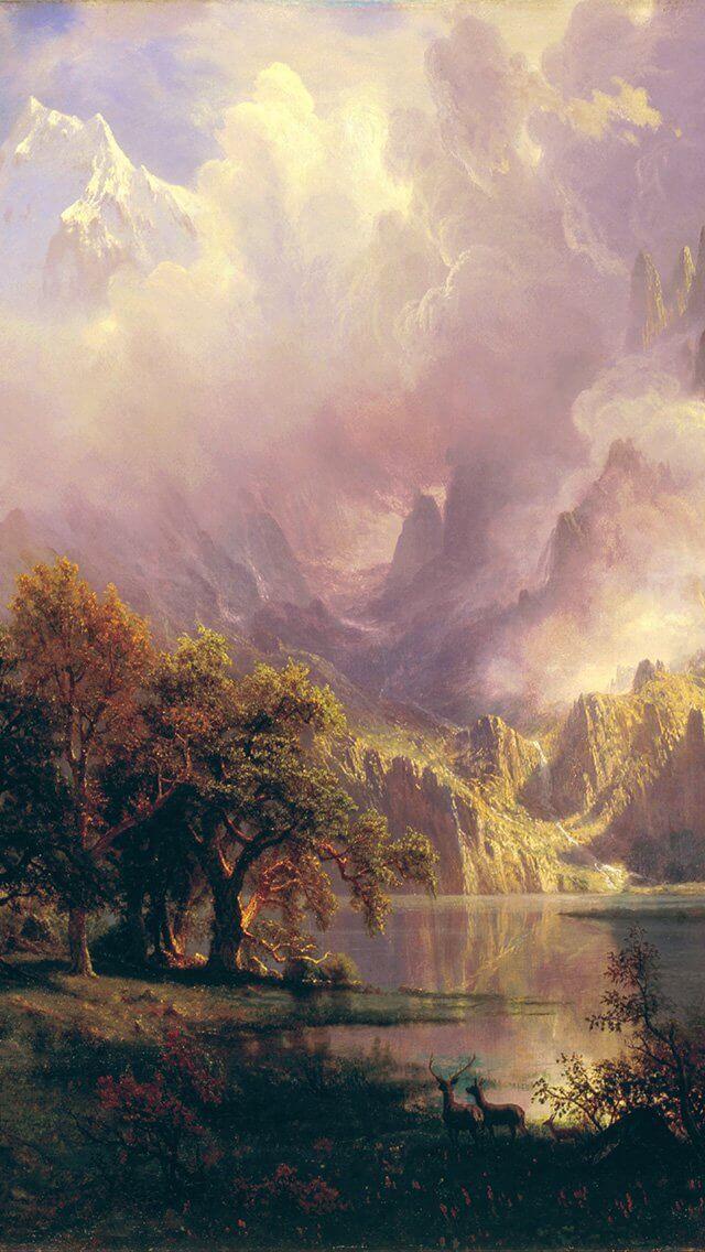 albert-bierstadt-classic-painting-art-iphone-5