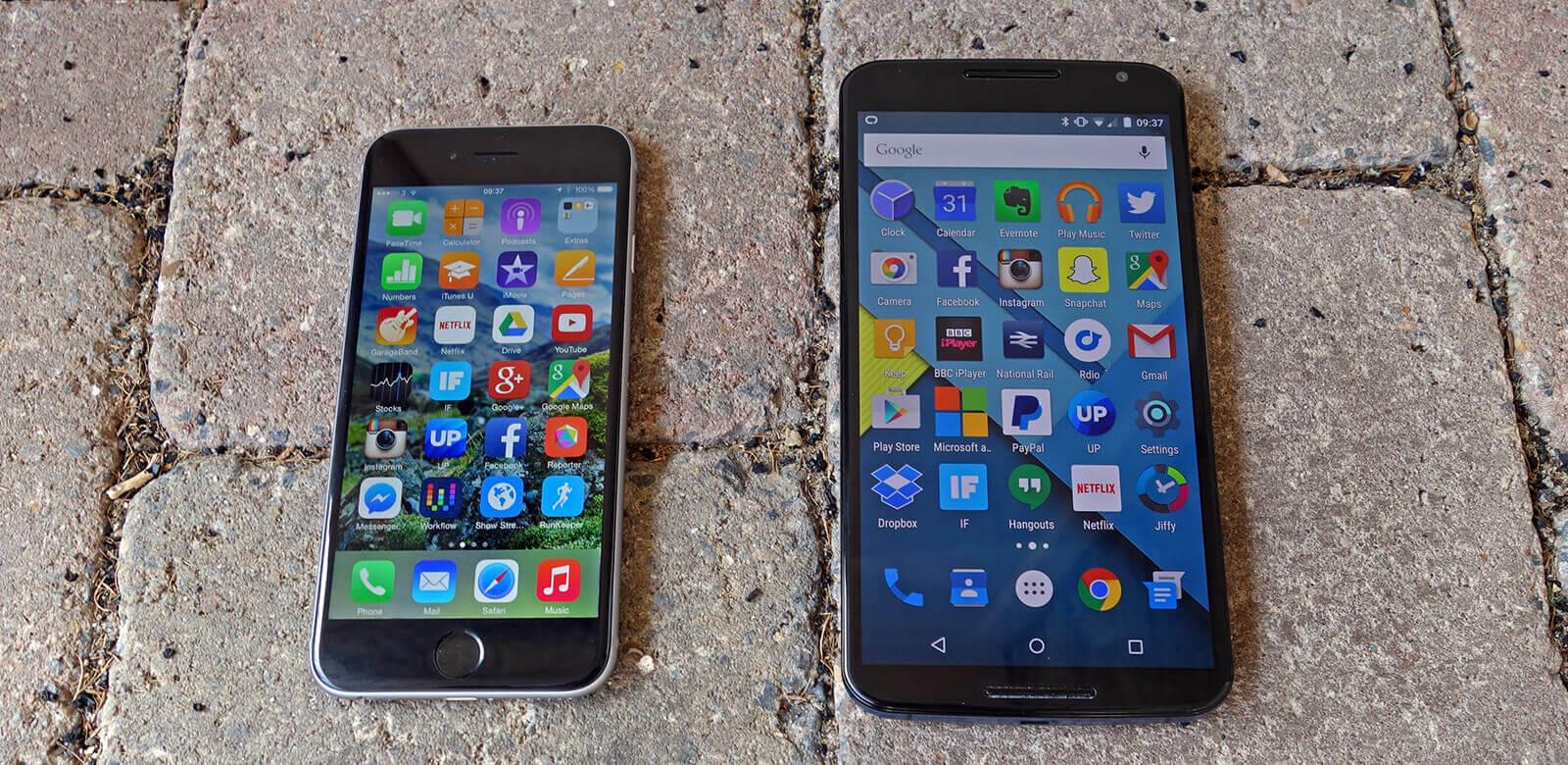 Что лучше iPhone или Android