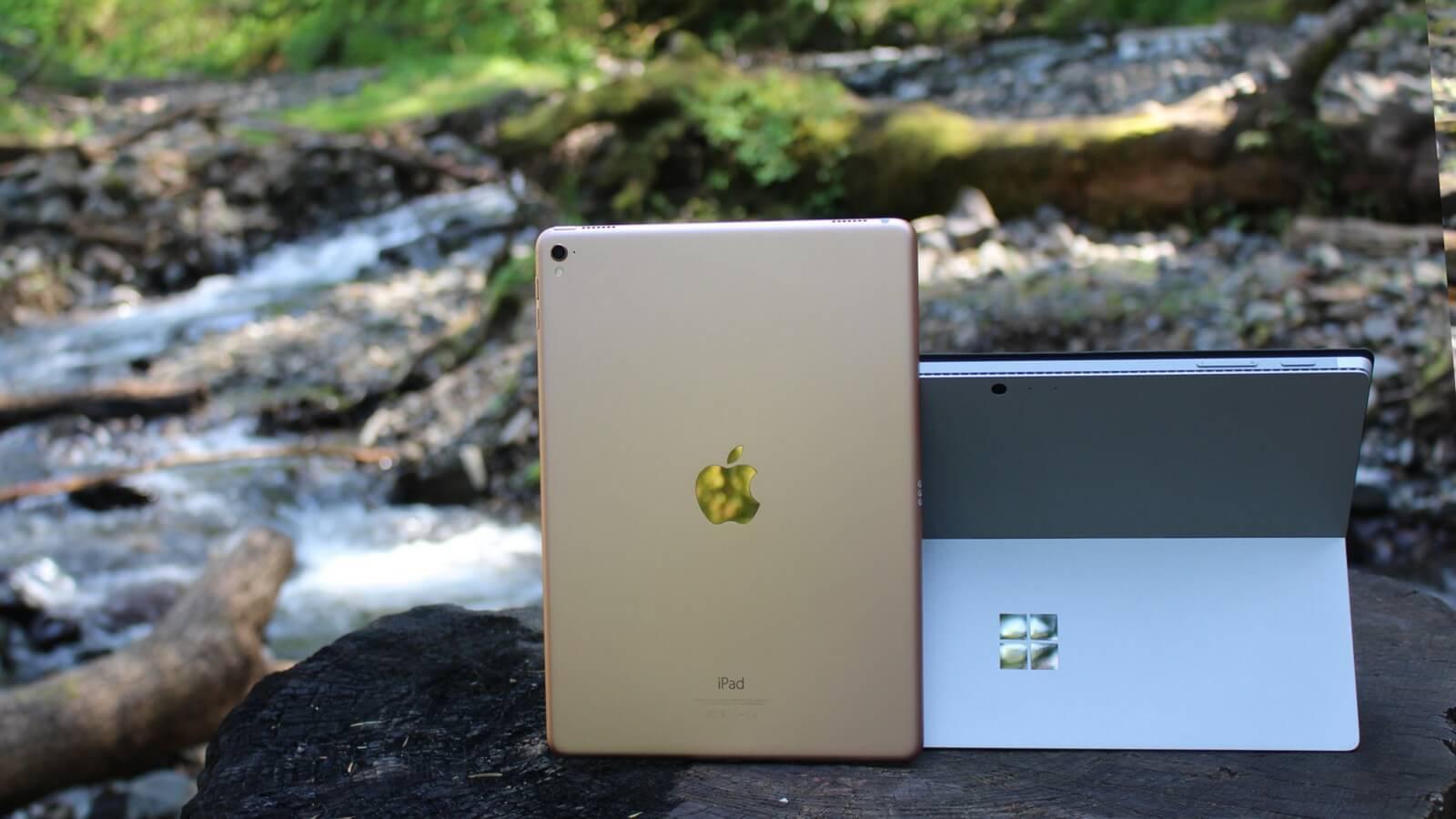 iPad Pro vs. Surface Pro 4