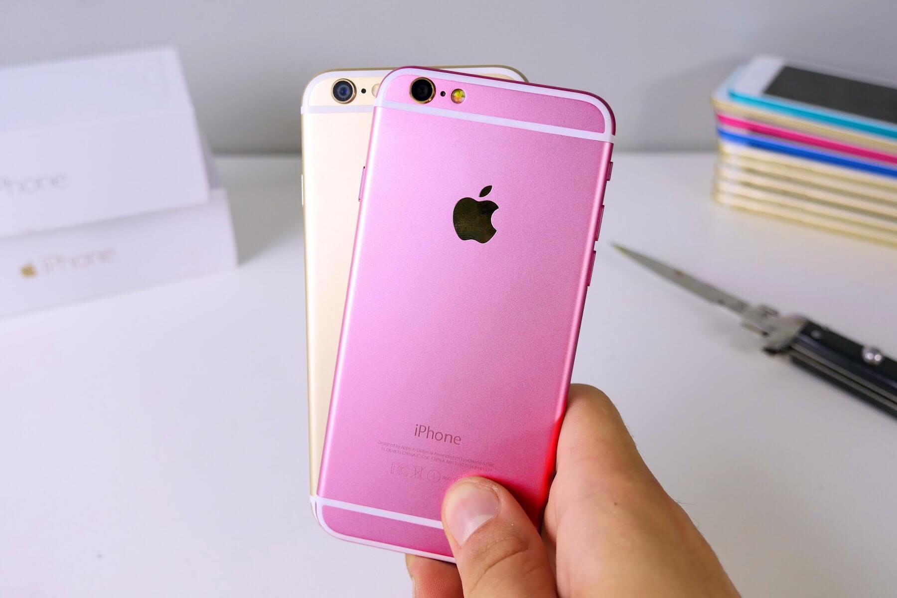 Поддельные iPhone