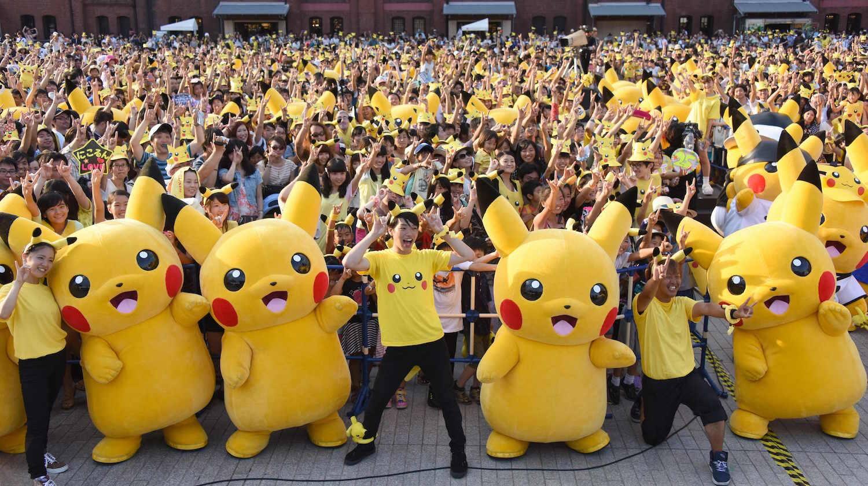 Игра Pokemon GO получила обновление
