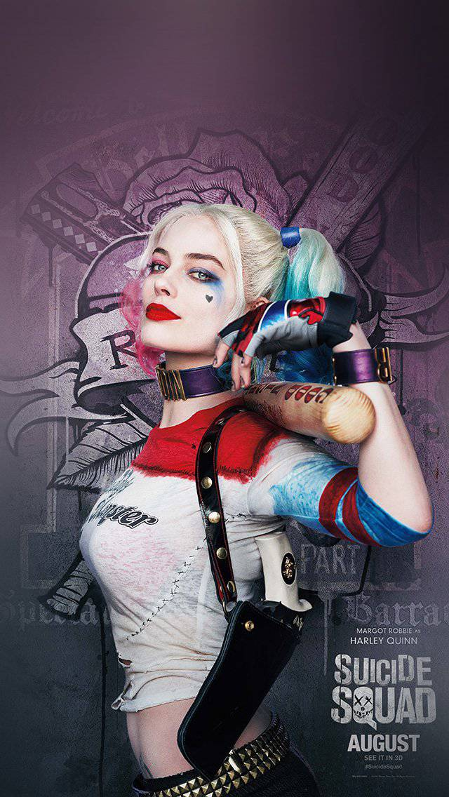 suicide-squad-poster-film-art-hall-harley-quinn-iphone-5