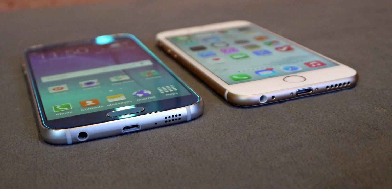 Samsung и iPhone