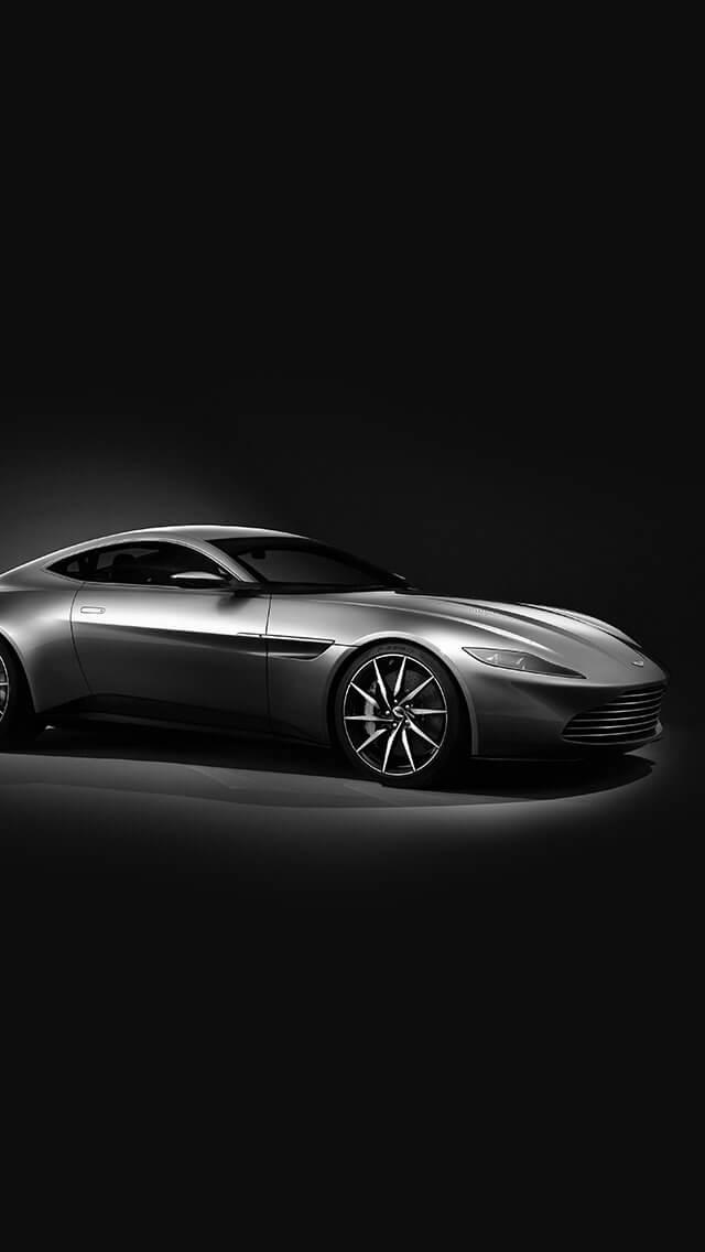 aston-martin-db10-sports-car-exotic-dark-bw-iphone-5