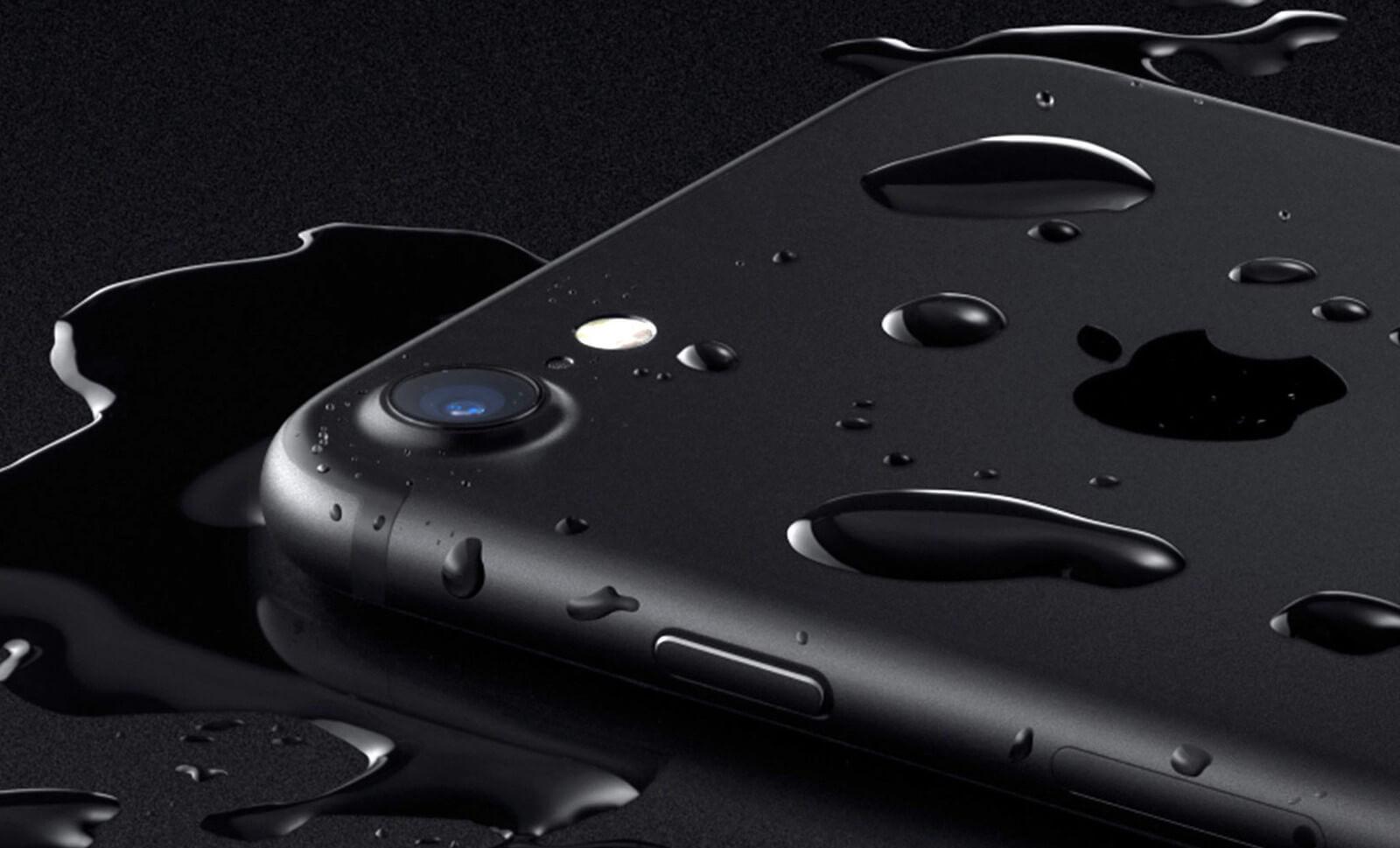 iPhone 7 вода