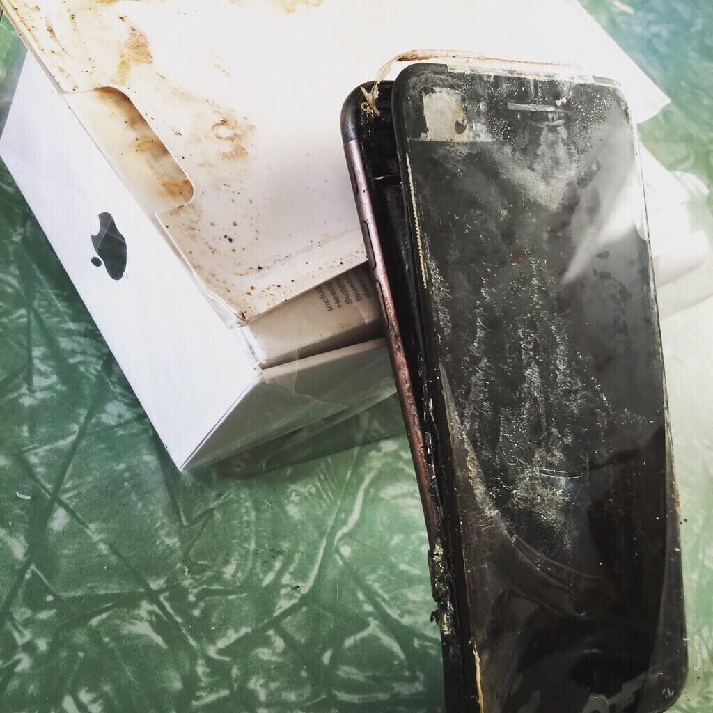 iPhone перегрев
