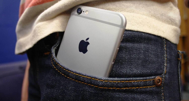 iPhone в кармане