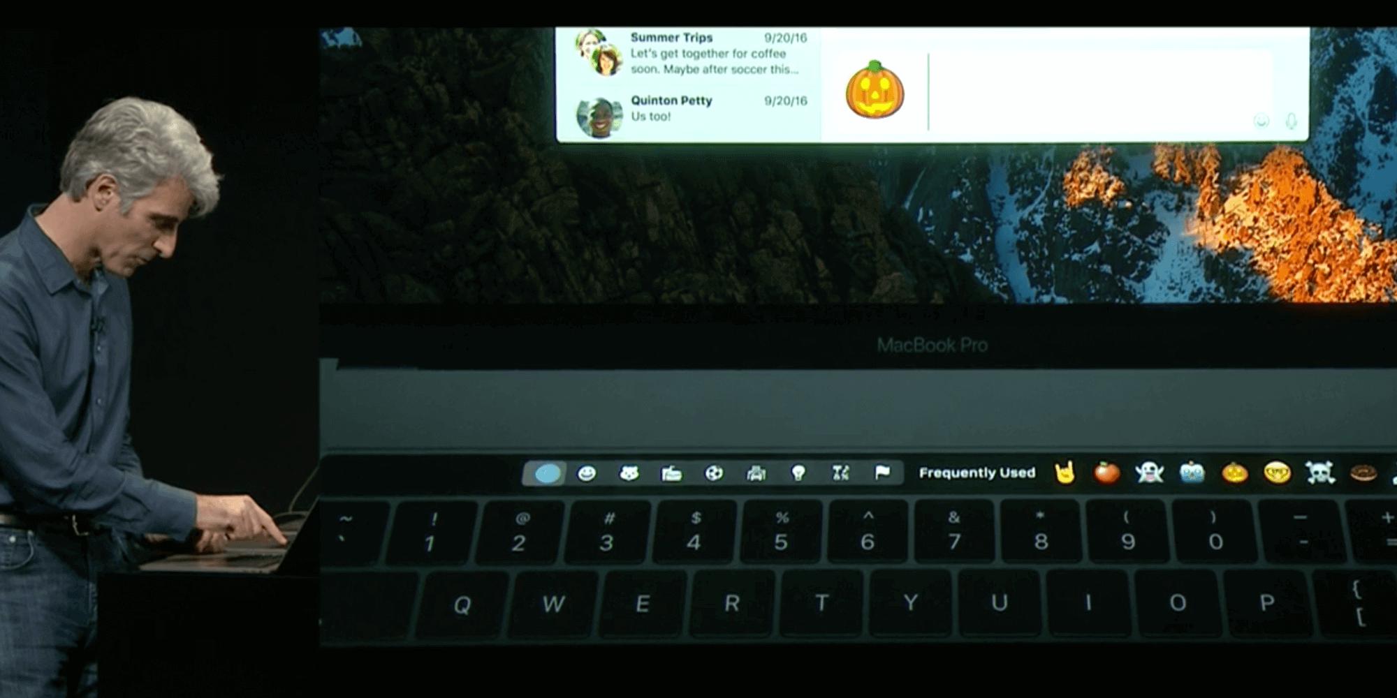 MacBook Pro с Touch Bar