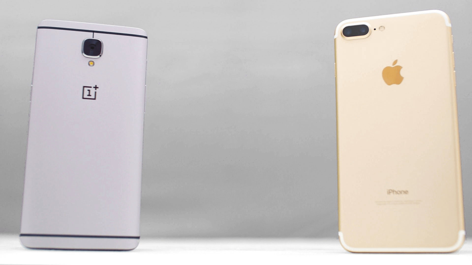 iPhone 7 Plus сравнили с OnePlus 3: кто оказался мощнее?