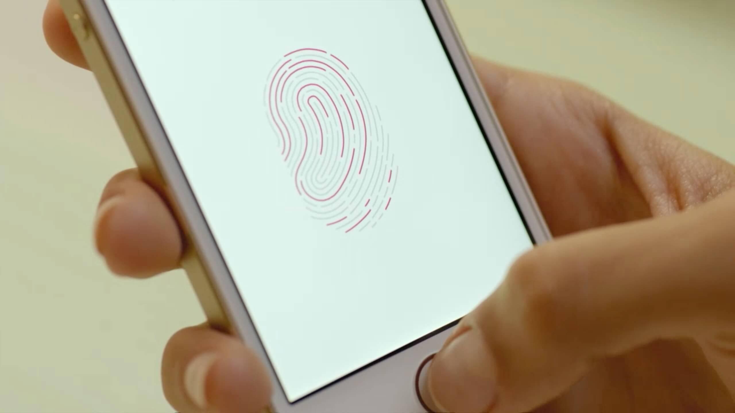 Apple оштрафовали за блокировку Touch ID