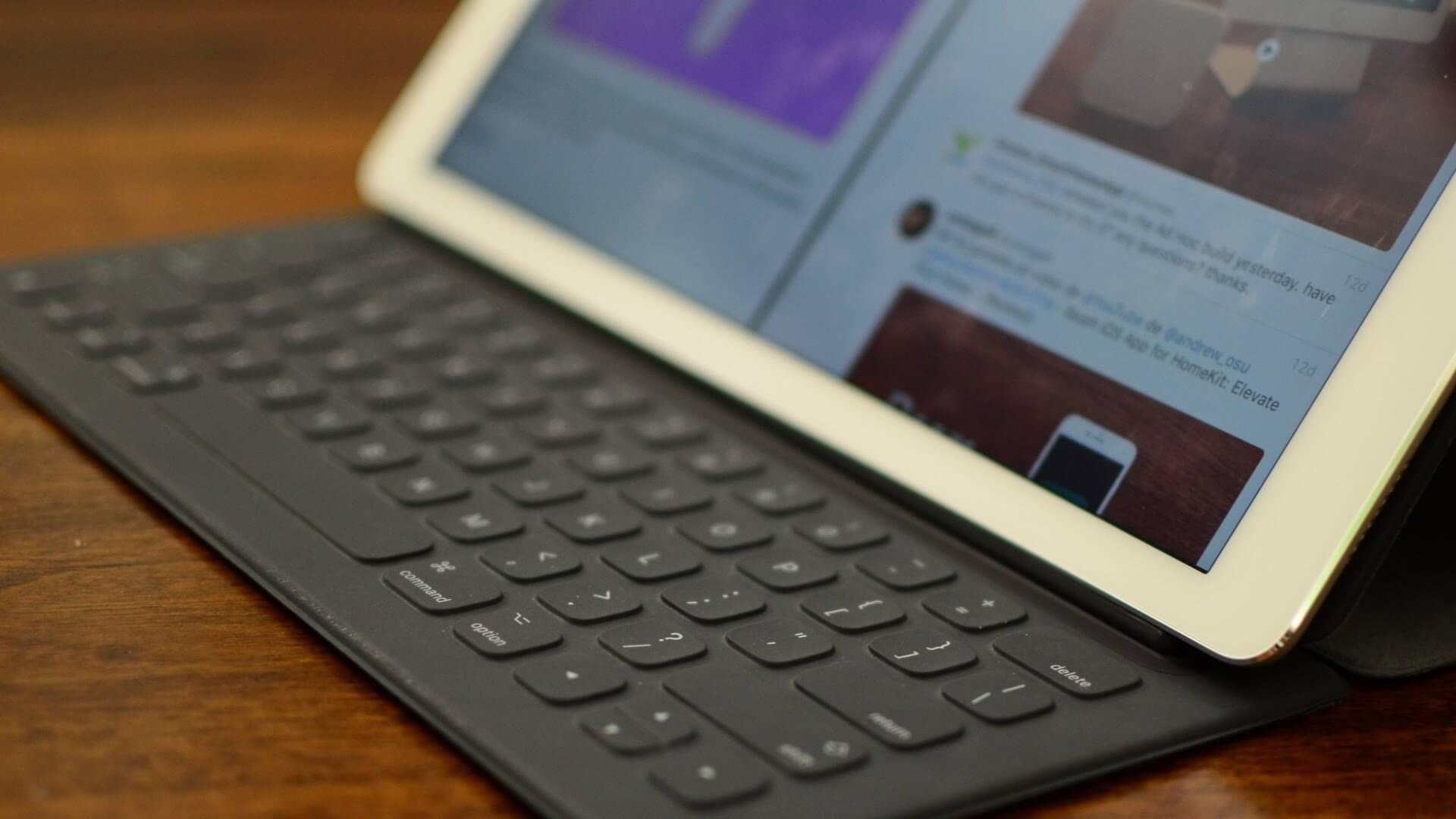 Как может выглядеть новая клавиатура iPad