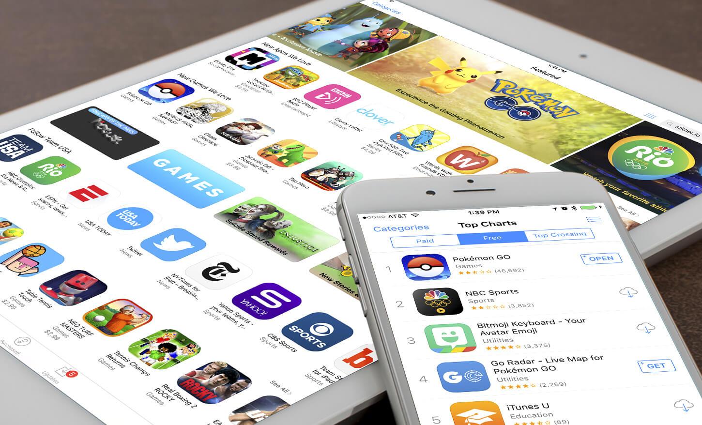 Apple продвигает свои приложения с помощью рекламы в App Store