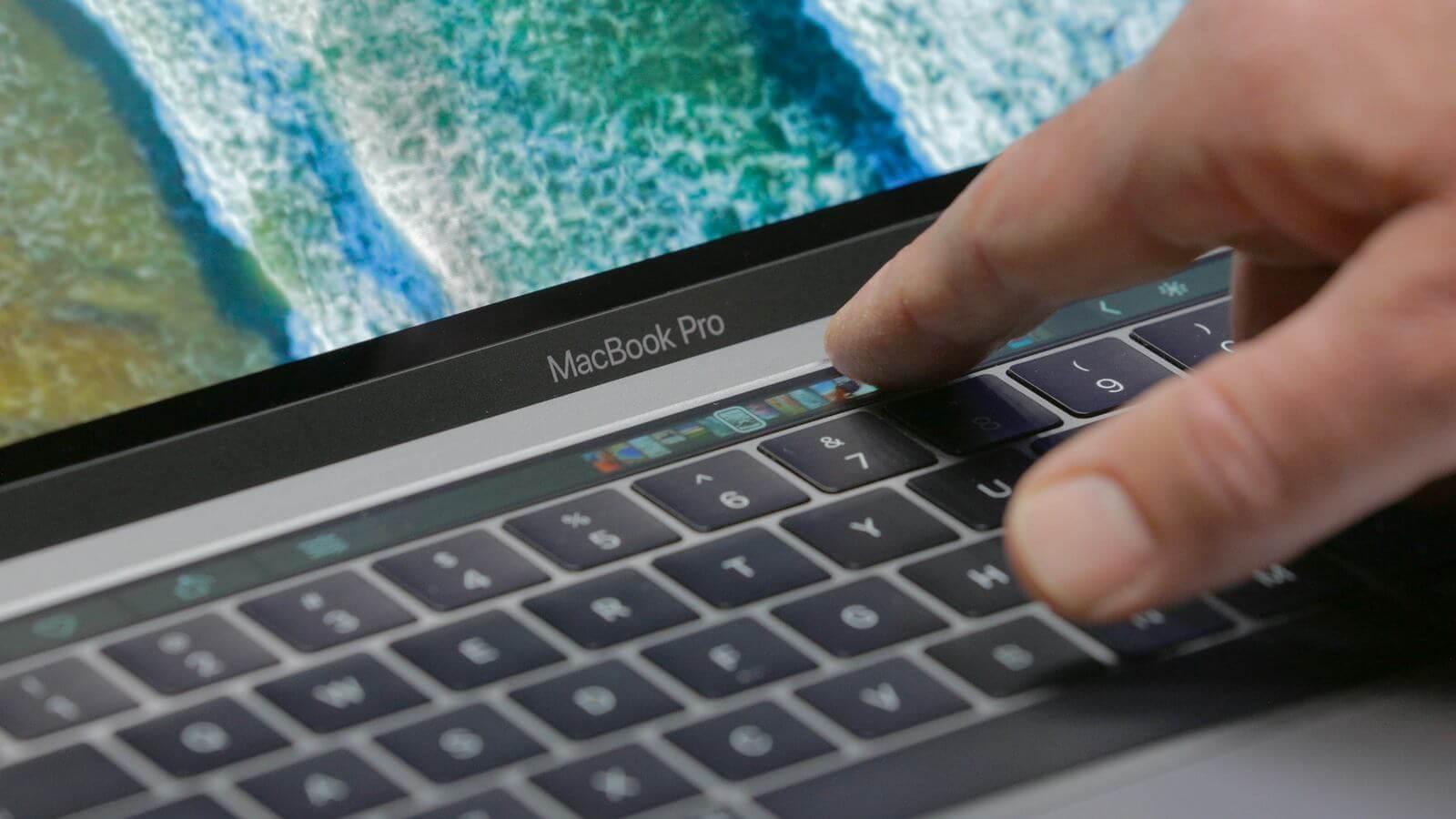 Как удалить данные Touch Bar с MacBook Pro