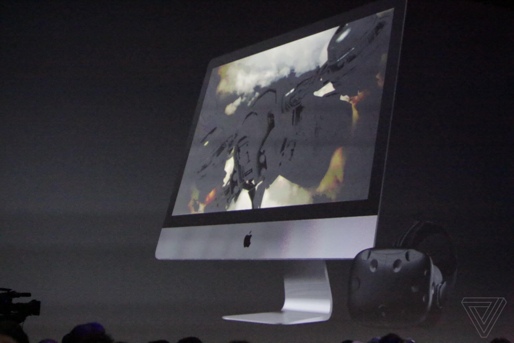 Apple показала обновленные iMac на WWDC 2017