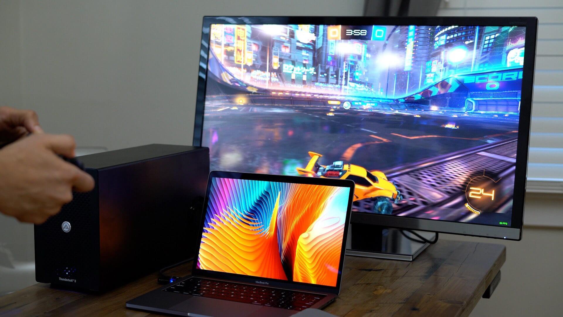 Как MacBook сможет стать игровым ноутбуком?
