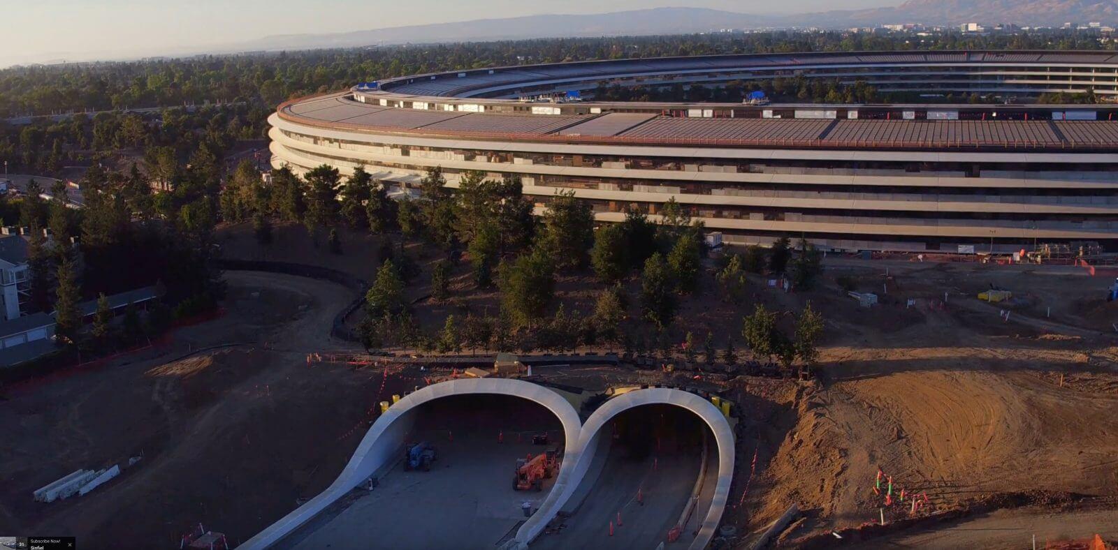 Как изменился Apple Park с презентации iPhone X