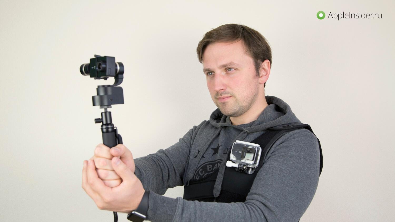Эта экшен-камера может в 60 fps и 4K