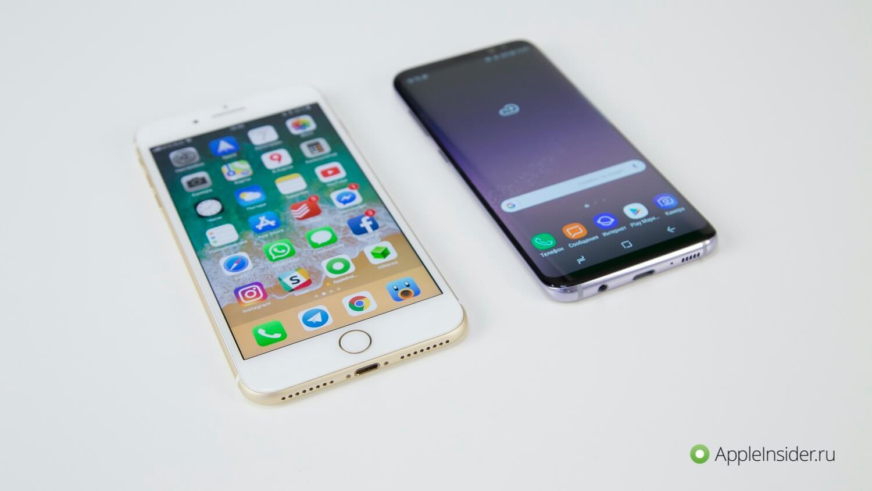 Видеообзор: iPhone 7 Plus или Samsung Galaxy S8. Подскажем ответ!