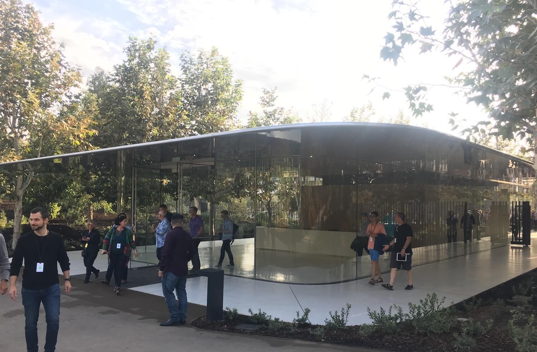 Центр для посетителей Apple Park откроется 17 ноября