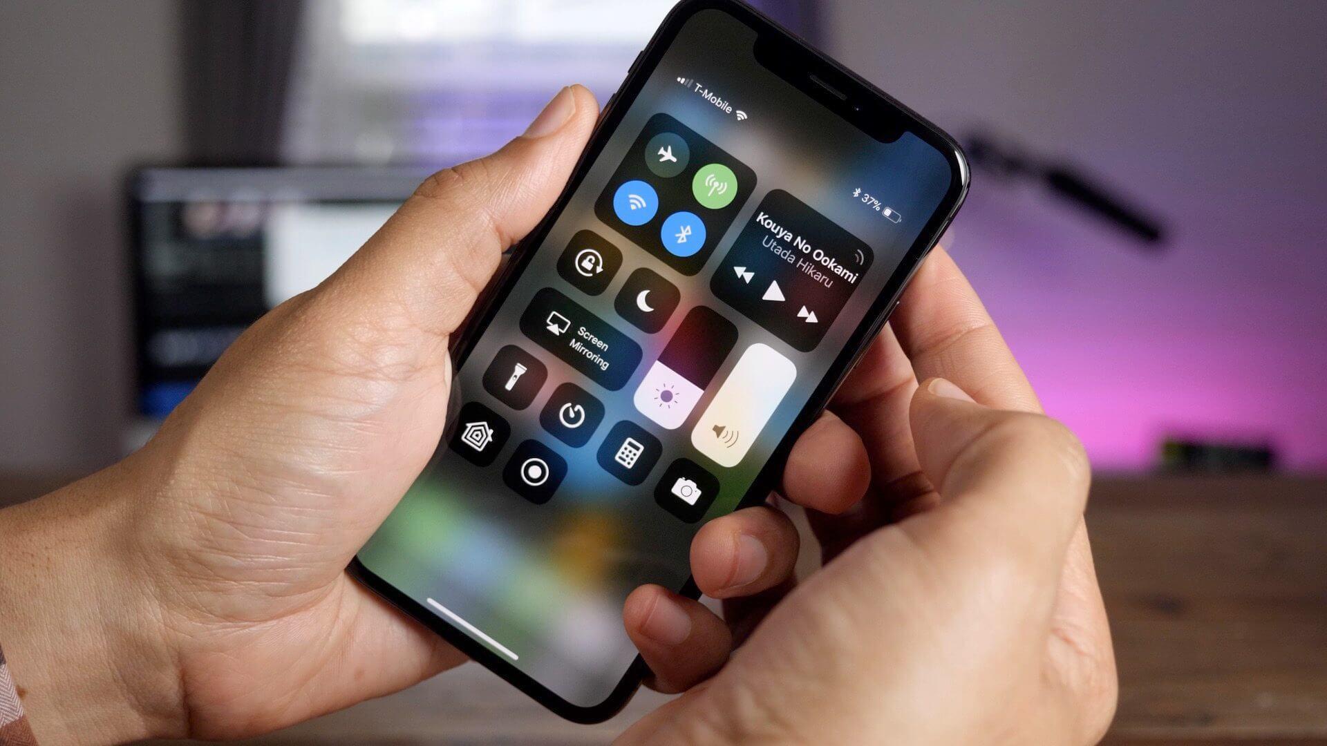 Как пользоваться iPhone X, чтобы избежать выгорания дисплея