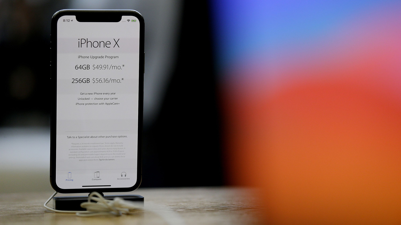 ФАС объяснила одинаковые цены на iPhone X в России