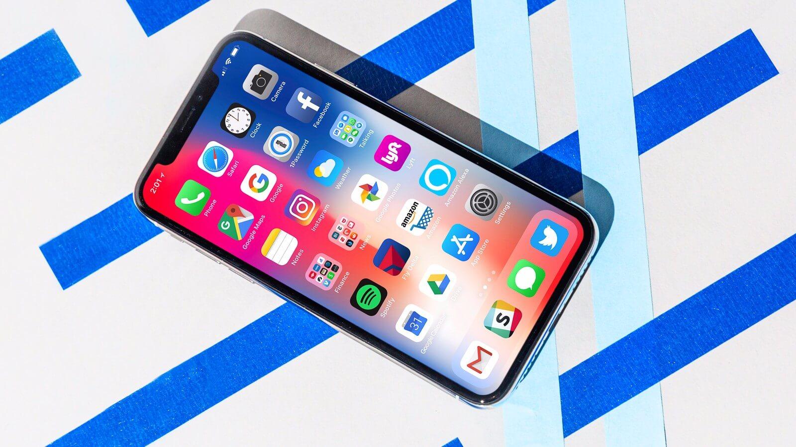 Как меняется восприятие приложений на экране iPhone X