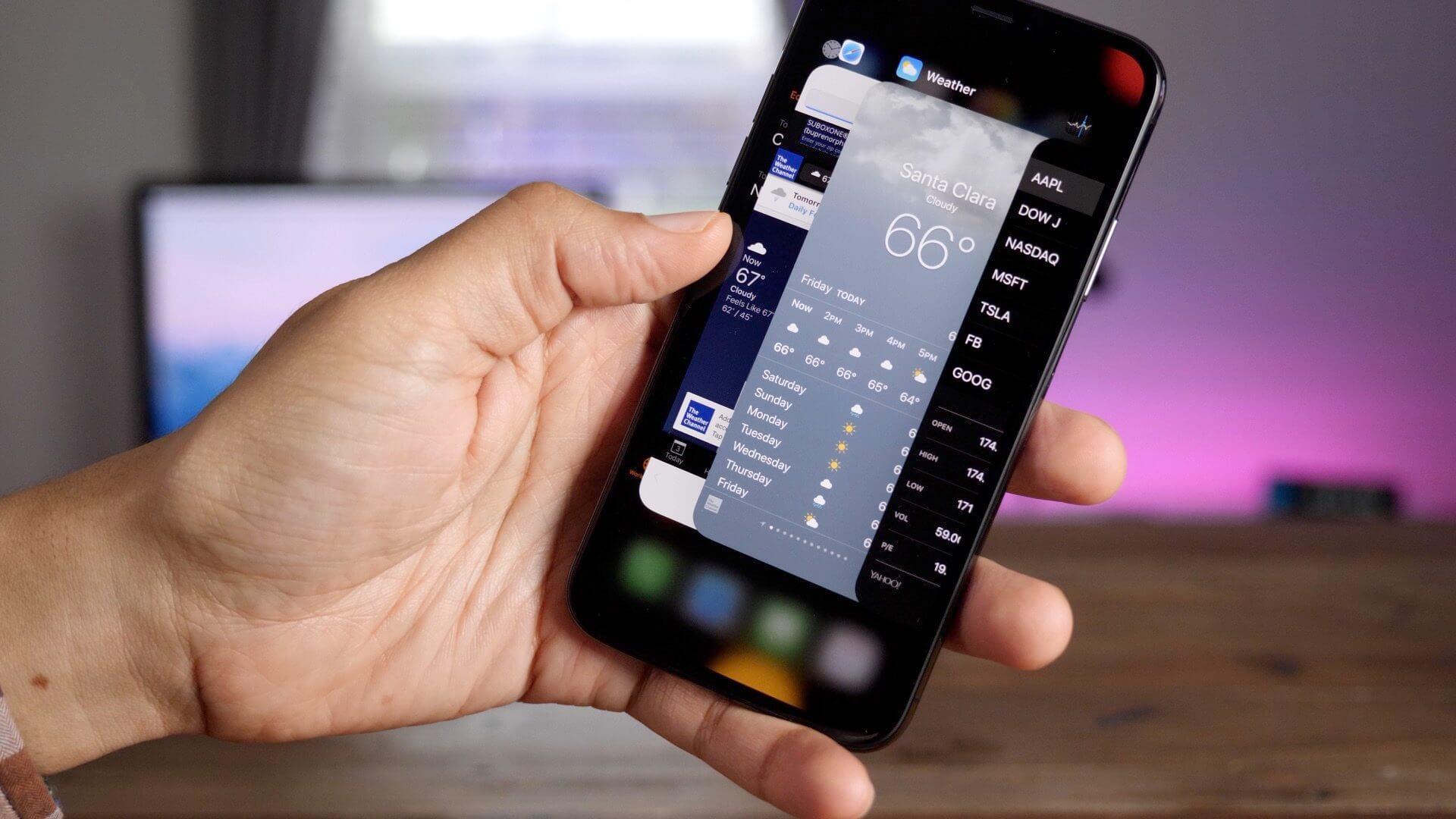 #Видео: Скопировала ли Apple интерфейс iPhone X?