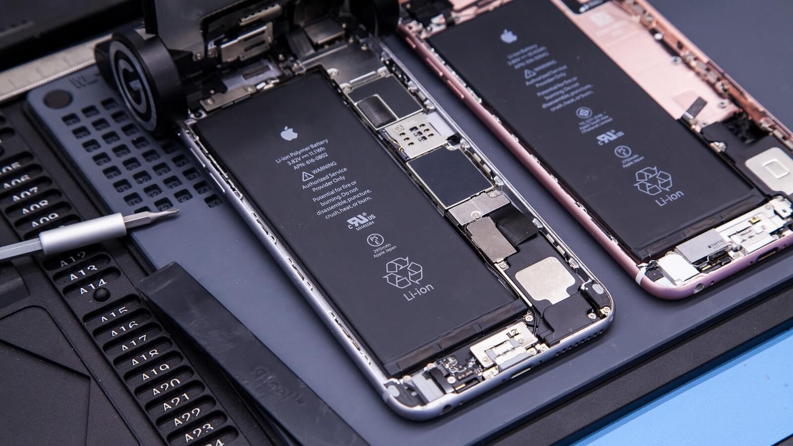Как Apple может пострадать от замены аккумуляторов в iPhone