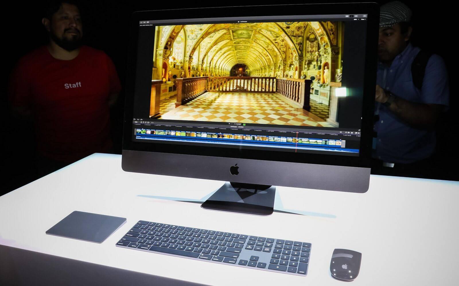 iMac Pro сравнили с двухлетним iMac и MacBook Pro