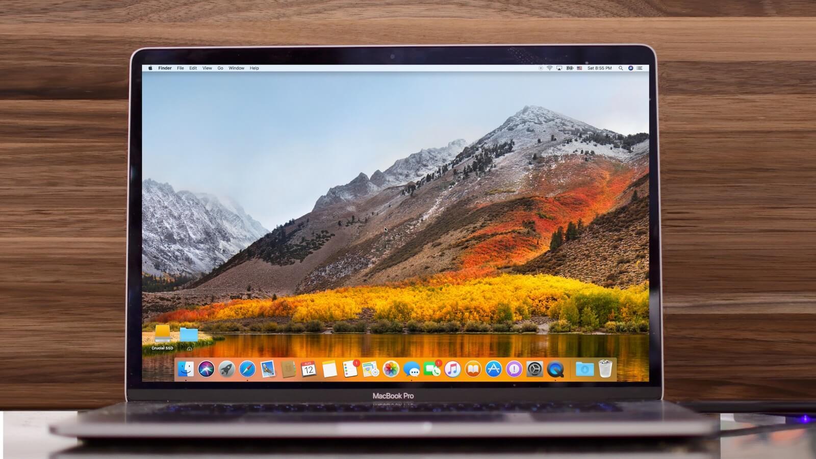 Apple выпустила macOS High Sierra 10.13.2 для всех
