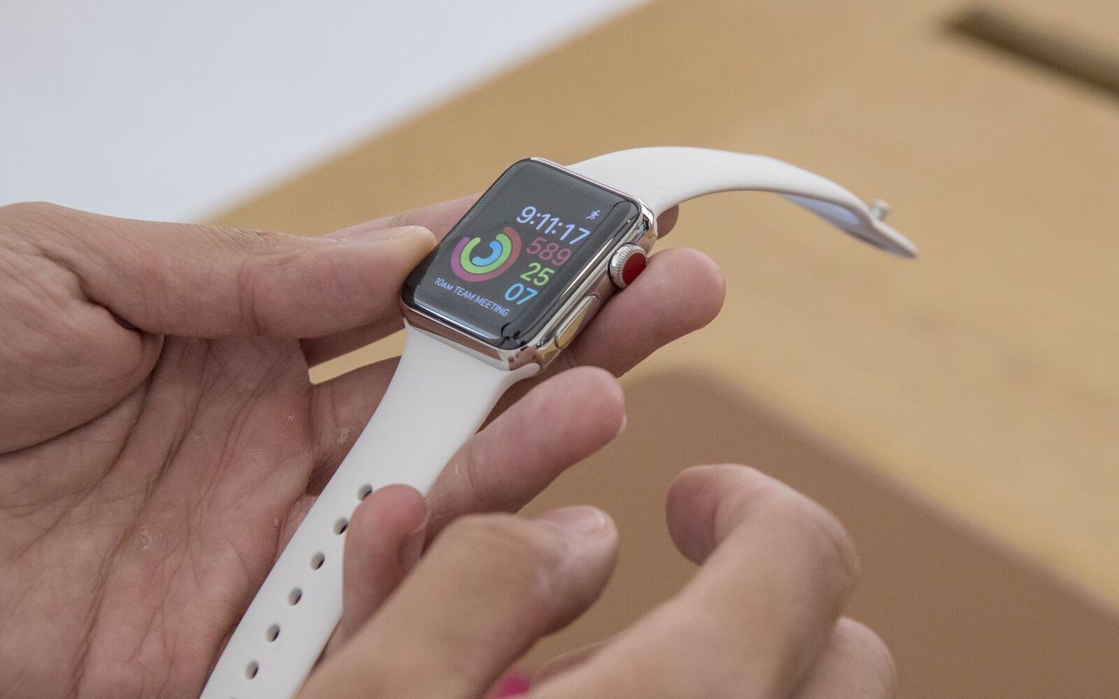 новые apple watch останутся физических клавиш