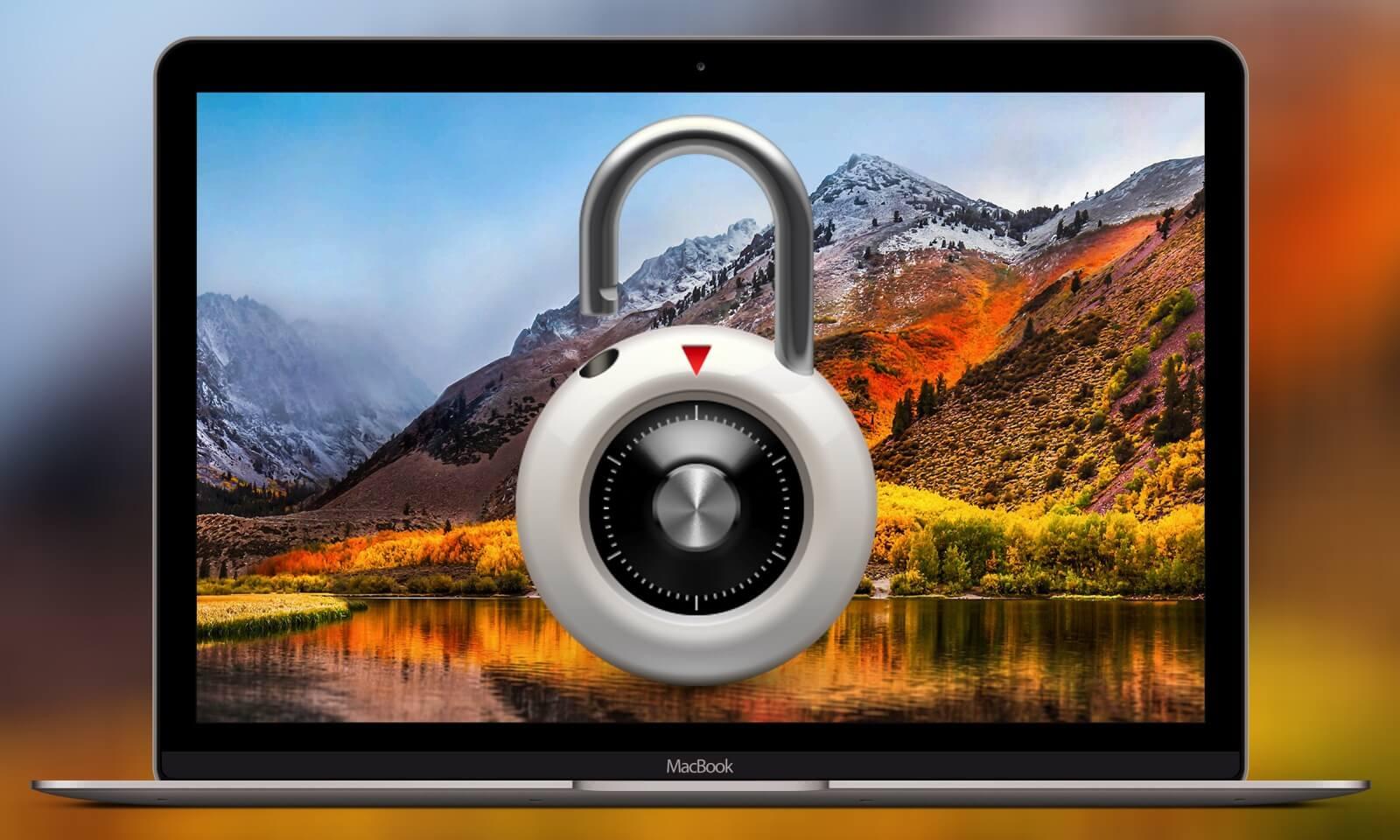 Как быстро заблокировать Mac