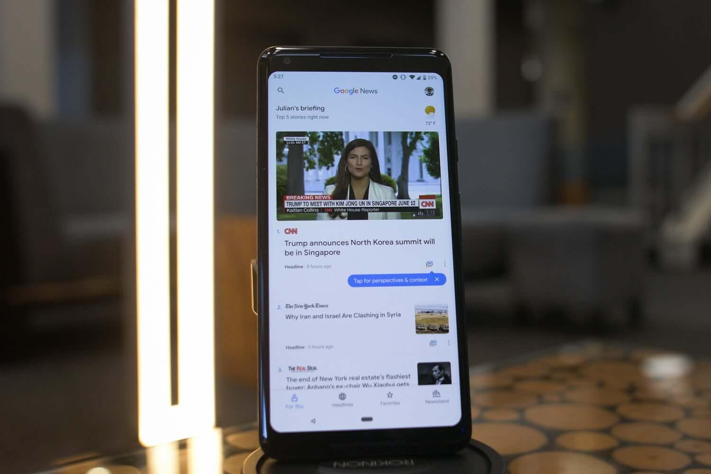 Google выпустила конкурента Apple News. И он работает в России